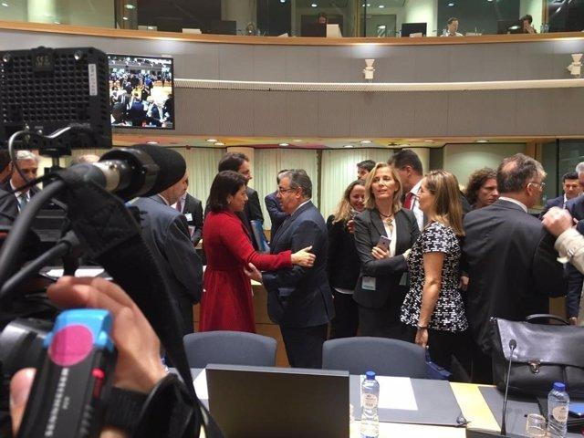 Zoido asiste en Bruselas a la reunión del Consejo de Ministros