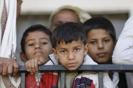 La cifra de niños heridos y reclutados se duplica durante el último año en Yemen, según UNICEF