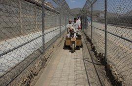 Pakistán construye una valla en la frontera con Afganistán en las zonas de alta amenaza