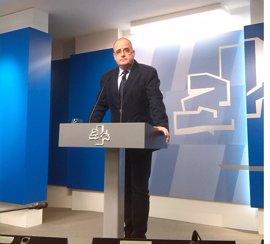 """Egibar: """"El PP posibilita el presupuesto para no enfadar a Urkullu y  lograr el apoyo del PNV a los PGE"""""""