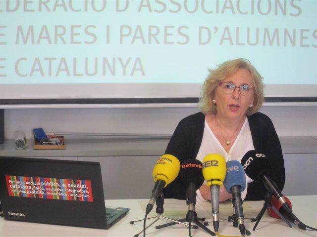 La presidenta de la Fapac Montse Conejo