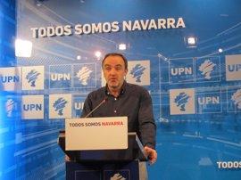 """UPN valora el principio de acuerdo en los Presupuestos del Estado, que """"da prioridad"""" al TAV y al Canal de Navarra"""