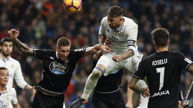 Sergio Ramos en el Real Madrid - Deportivo