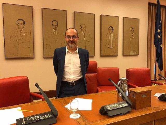Carles Campuzano, diputado de CDC