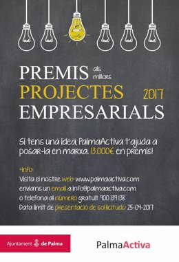 Premios a los mejores proyectos empresariales de PalmaActiva