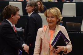 """Aguirre sobre su posible candidatura a la Alcaldía de Madrid en 2019: """"Estaré donde mi partido quiera que esté"""""""