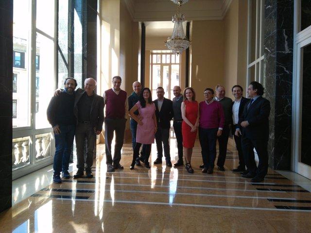 Elenco de la zarzuela 'Doña Francisquita'