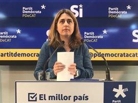 El PDeCAT condena la concentración de Arran y se solidariza con el PP catalán