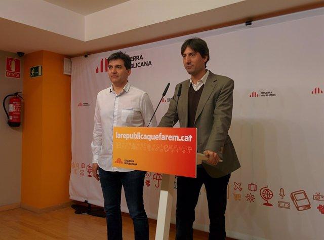 Sergi Sabrià, Jordi Solé (ERC)