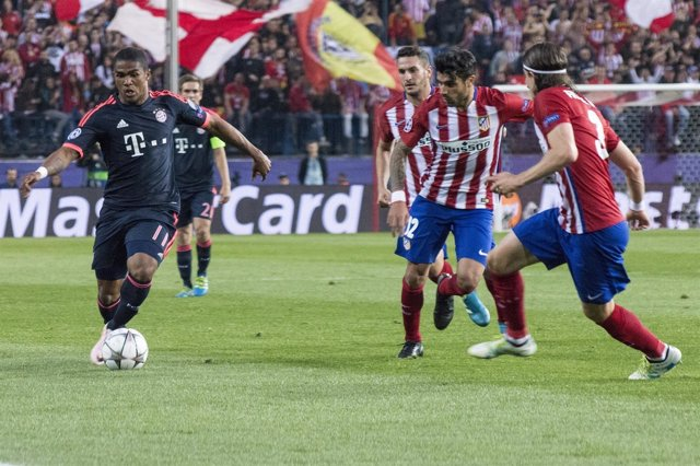 Douglas Costa, Champions League, Atlético de Madrid-Bayern de Múnich