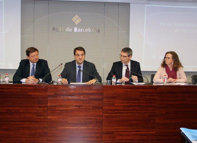 Presentación del plan de acción 2017 del Puerto de Barcelona