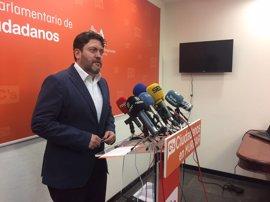 Cs apoyará la investidura de Tovar si el socialista se compromete a convocar elecciones