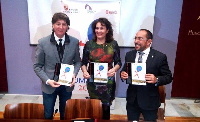 Soria. Carlos Martínez, María Josefa García Cirac y Luis Rey