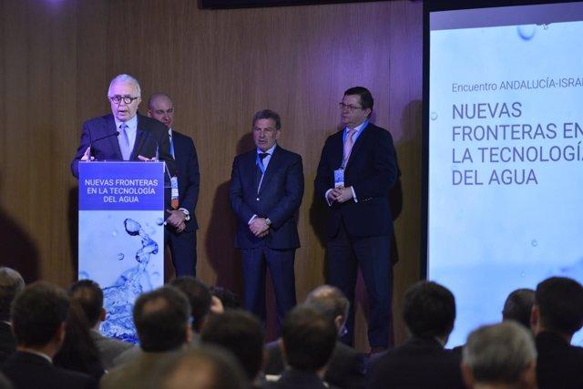 Sánchez Maldonado, en la jornada Nuevas Fronteras en las Tecnologías del Agua.