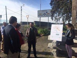 La Junta construirá una pasarela peatonal para mejorar la seguridad vial en el acceso a la estación de Espeluy (Jaén)