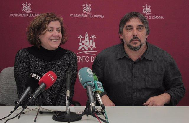 Alba Doblas y Rafael Ibáñez