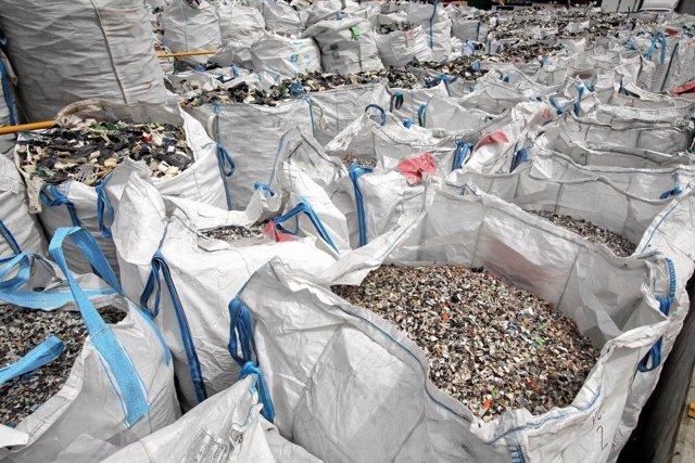 Sacos de residuos de aparatos eléctricos y electrónicos
