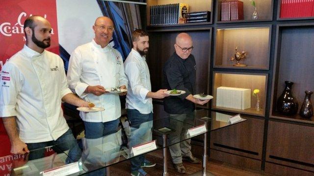 Cocineros en la cámara de Comercio
