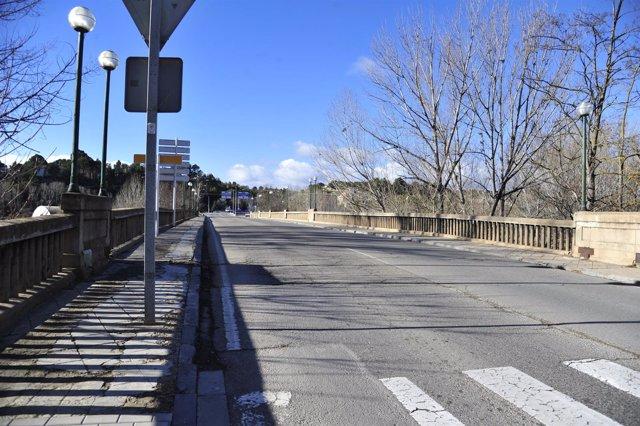 Puente de la Equivocación, en Teruel