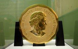 Robada la mayor moneda de oro del mundo de un museo de Berlín
