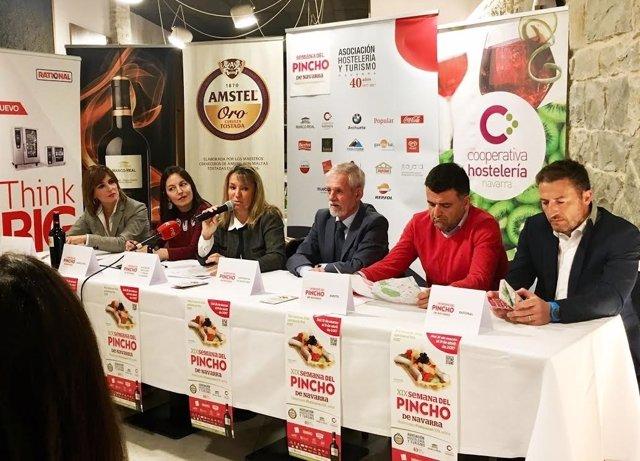Presentación de la Semana del Pincho de Navarra.
