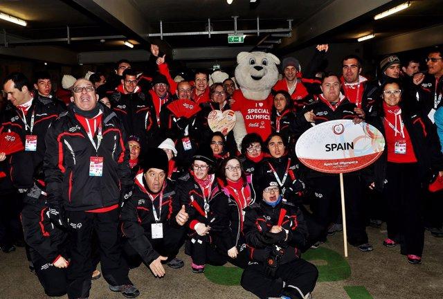 Delegación de España en los JJMM de Austria de Invierno de Special Olympics