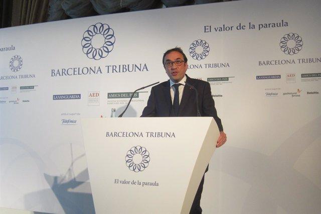 El conseller Josep Rull