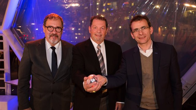 Premio 'NGV Global Industry Champion' a Iveco