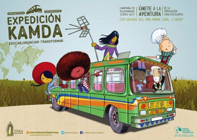 Campaña Kamda Escolapios