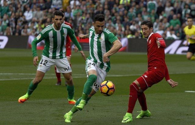 Rubén Castro Escudero Cristiano Piccini Betis Sevilla