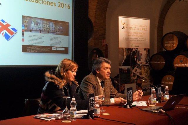 César Saldaña, reelegido presidente de la Ruta del Vino y el Brandy de Jerez