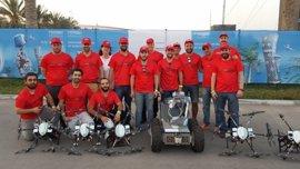 Equipo de investigadores e ingenieros andaluces Al-Robotics finaliza con éxito su participación en la competición Mbzirc
