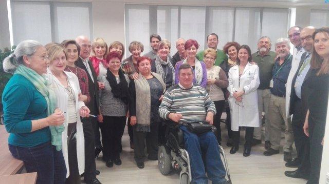 Reunión de los hospitales con representantes de las asociaciones
