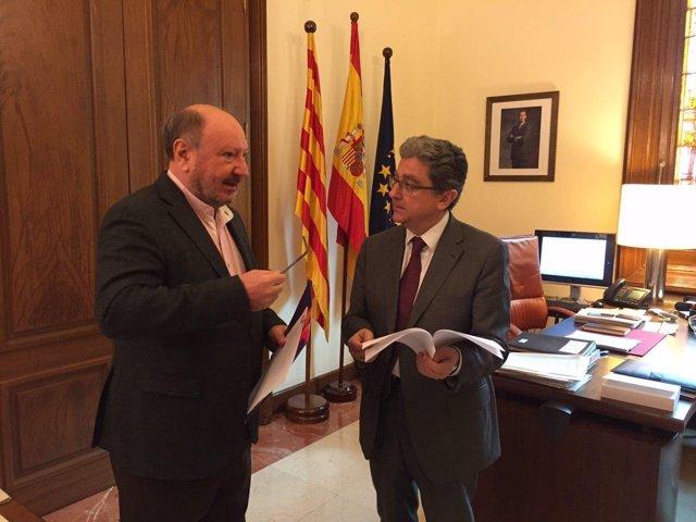 Mariano Gomà (SCC) y Enric Millo (PP)