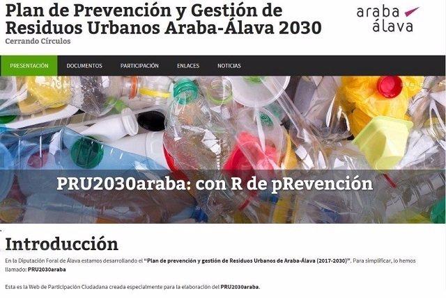 Aportaciones al nuevo Plan de Prevención de Residuos