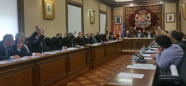 Pleno de la Diputación de Ávila en marzo