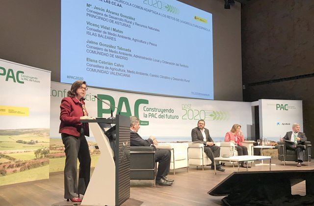 A consejera de Agricultura, Ganadería y Medio Ambiente, María Jesús Álvarez.