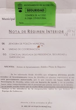 Ayuntamiento prohíbe la entrada