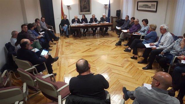 Reunión en Madrid de uno de los grupos de la candidatura de Pedro Sánchez