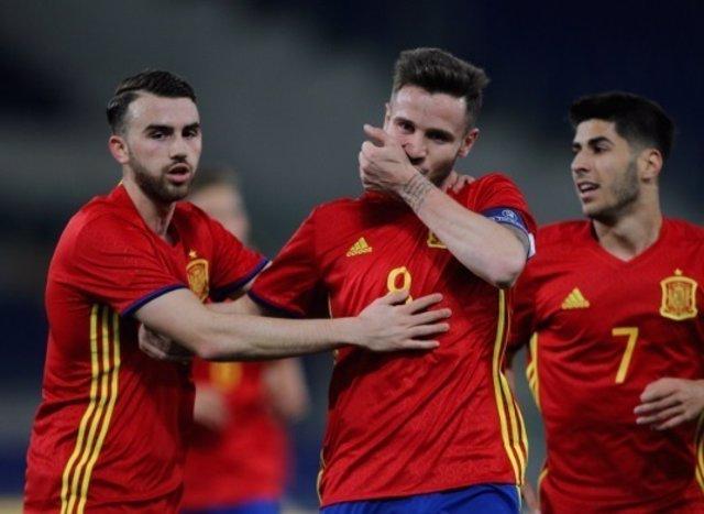 Saúl Ñíguez selección española Sub-21 España