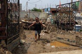 La crecida del río Piura deja ocho muertos en medio de las lluvias torrenciales de Perú