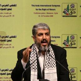 El líder de Hamas, Jaled Meshaal
