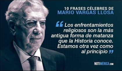 10 Frases Célebres De Vargas Llosa