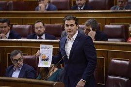 """Rivera ve una """"temeridad"""" la petición de Podemos de eliminar el delito de enaltecimiento del terrorismo"""