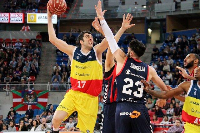 Giorgi Shermadini Baskonia contra Andorra