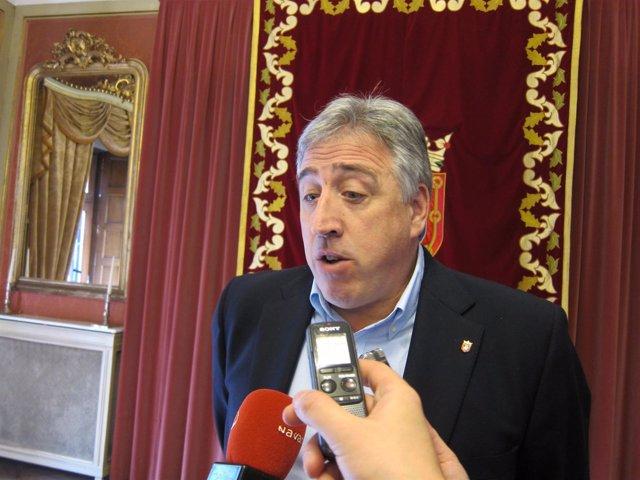 El alcalde de Pamplona, Joseba Asiron
