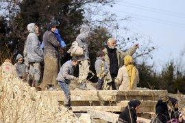 Los enfrentamientos en Hama provocan el desplazamiento de 40.000 sirios