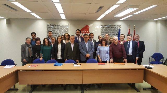Mesa de Diálogo Social de la Comunidad de Madrid