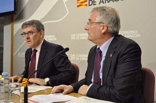 Vicente Guillén y Joaquín Olona