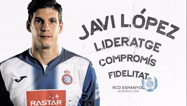 Anuncio renovación de Javi López